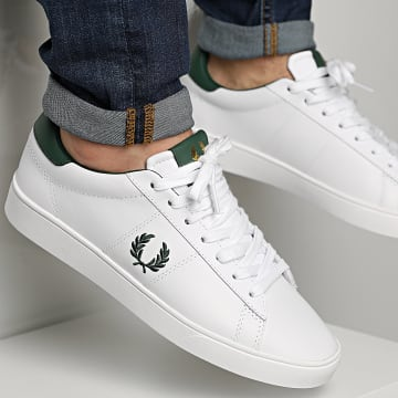 Fred Perry - Baskets Spencer Leather B8250 White