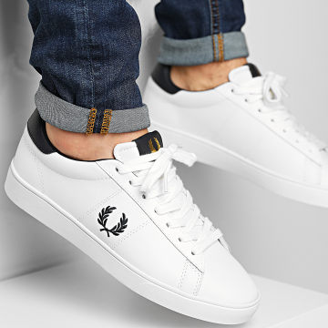 Fred Perry - Baskets B8250 Porcelain