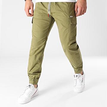 Tommy Jeans - Jogger Pant Ethan 0118 Vert Kaki