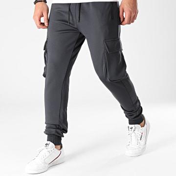 Aarhon - Pantalon Jogging AARJ272 Gris Anthracite