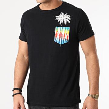 Deeluxe - Tee Shirt Poche Palmy S21153 Noir