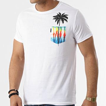 Deeluxe - Tee Shirt Poche Palmy S21153 Blanc