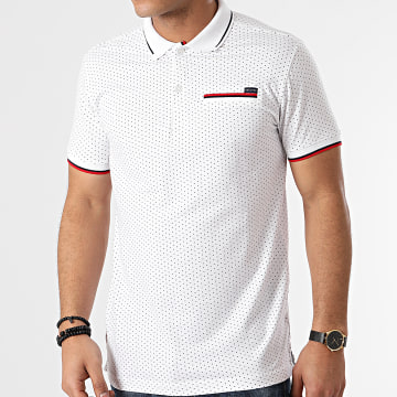 Deeluxe - Polo Manches Courtes Slice S21236 Blanc
