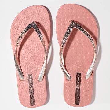 Ipanema - Tongs Femme Glam II 82870 Pink Metallic