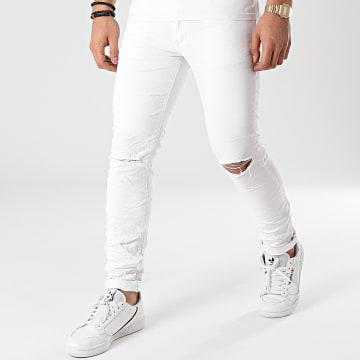 MTX - Jean Slim 7169 Blanc
