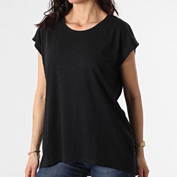 Noisy May - Tee Shirt Femme Sans Manches Mathilde Noir
