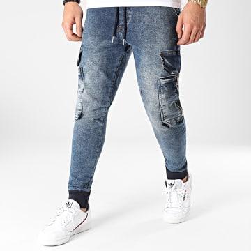 2Y Premium - Jogger Pant Jean B5787 Bleu Denim
