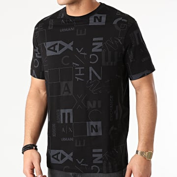Armani Exchange - Tee Shirt 3KZTFC-ZJH4Z Noir Gris