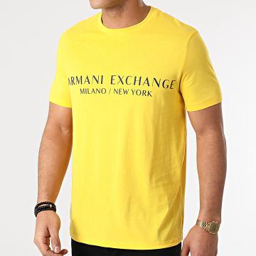 Armani Exchange - Tee Shirt 8NZT72-Z8H4Z Jaune