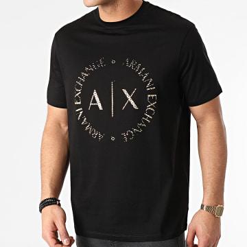 Armani Exchange - Tee Shirt 3KZTEC-ZJ9AZ Noir Doré