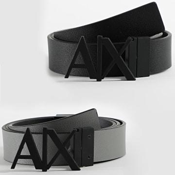 Armani Exchange - Ceinture Réversible 951017-CC505 Noir Gris