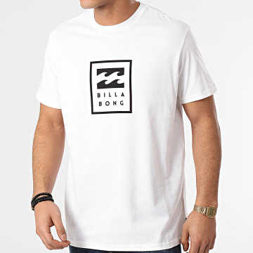 Billabong - Tee Shirt Unity Stacked Blanc