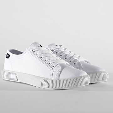 Calvin Klein - Baskets Femme Vulcanized 0123 Bright White