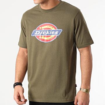 Dickies - Tee Shirt Icon Logo A4XC9 Vert Kaki