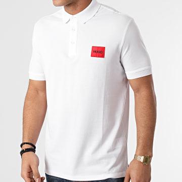 HUGO - Polo Manches Courtes Dereso 212 50447938 Blanc