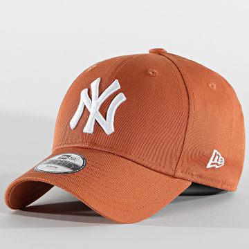 New Era - Casquette Enfant 9Forty League Essential 60112558 New York Yankees Orange