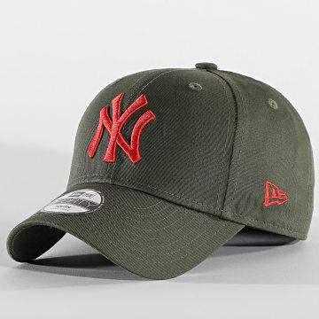 New Era - Casquette Enfant 9Forty League Essential 60112561 New York Yankees Vert Kaki