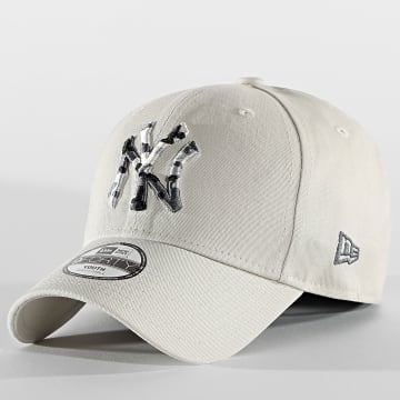 New Era - Casquette Enfant 9Forty Infill 60112564 New York Yankees Beige Camo