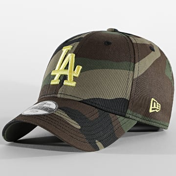 New Era - Casquette Enfant 9Forty All Over Camo 60112568 Los Angeles Dodgers Vert Kaki