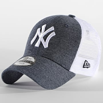 New Era - Casquette Trucker Enfant 9Forty Home Field 60112573 New York Yankees Bleu Chiné Blanc