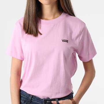 Vans - Tee Shirt Femme A4MFL0FS1 Rose