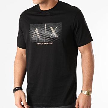 Armani Exchange - Tee Shirt 3KZTEA-ZJ9AZ Noir Doré