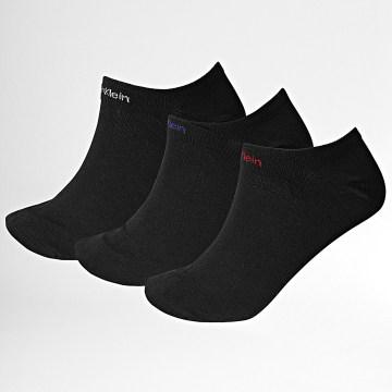 Calvin Klein - Lot De 3 Paires De Socquettes 1922 Noir