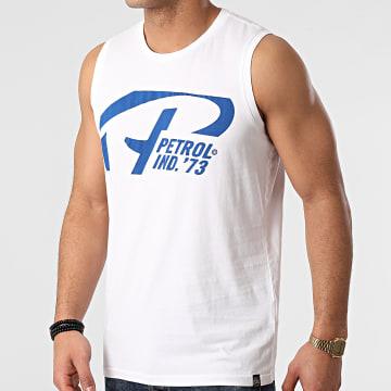Petrol Industries - Tee Shirt Sans Manches 701 Blanc