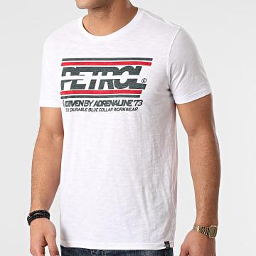 Petrol Industries - Tee Shirt 602 Blanc