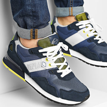 Replay - Baskets Sport Game C0014L Navy Lime