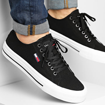 Tommy Jeans - Baskets Long Lace Up Vulc 0659 Black