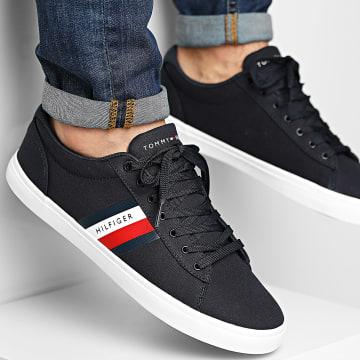 Tommy Hilfiger - Baskets Essential Stripes Detail Sneaker 3389 Desert Sky