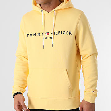 Tommy Hilfiger - Sweat Capuche Tommy Logo 1599 Jaune