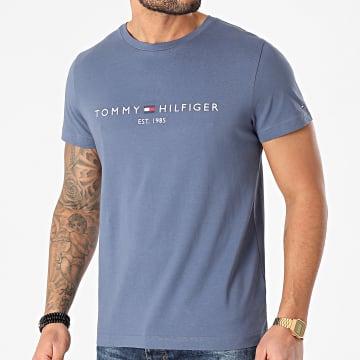 Tommy Hilfiger - Tee Shirt Tommy Logo 1797 Bleu Marine