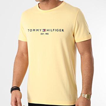 Tommy Hilfiger - Tee Shirt Tommy Logo 1797 Jaune