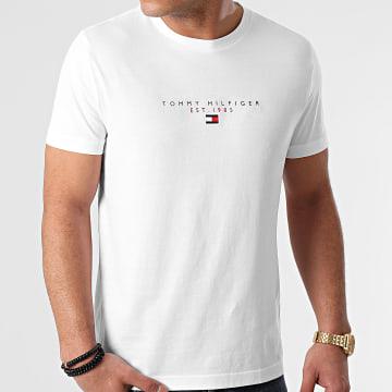 Tommy Hilfiger - Tee Shirt Essential Tommy 7676 Blanc