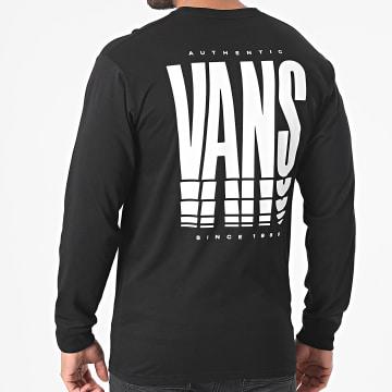 Vans - Tee Shirt Manches Longues Reflect A5E1F Noir