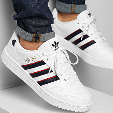 Adidas Originals - Baskets NY 90 S29248 Footwear White Collegial Navy Scarlet