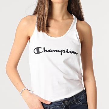 Champion - Débardeur Femme 112607 Blanc