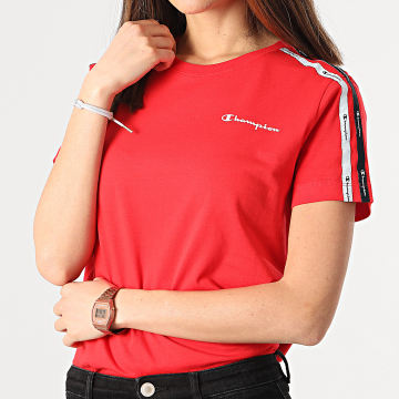 Champion - Tee Shirt A Bandes Femme 113086 Rouge