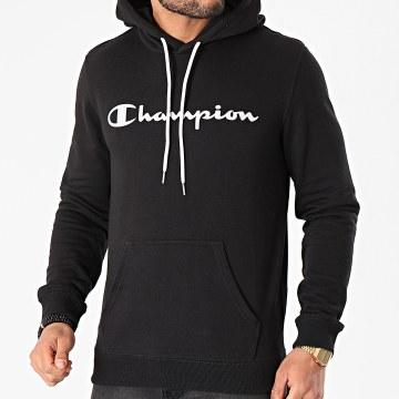 Champion - Sweat Capuche 214138 Noir