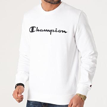 Champion - Sweat Crewneck 214140 Blanc