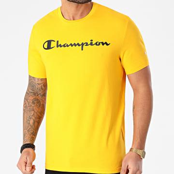Champion - Tee Shirt 214142 Jaune