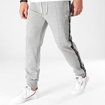 Champion - Pantalon Jogging A Bandes 214226 Gris Chiné