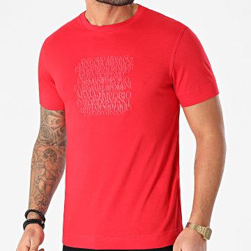 Emporio Armani - Tee Shirt 3K1TD6-1JSHZ Rouge