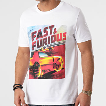 Fast & Furious - Tee Shirt Drift Blanc