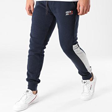 Jack And Jones - Pantalon Jogging Will Arid Bleu Marine