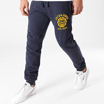 Jack And Jones - Pantalon Jogging Gordon Ralph Bleu Marine