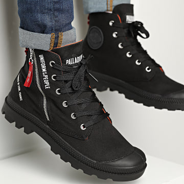 Palladium - Boots Pampa Hi Outzip Uniform Of The People 77023 Black