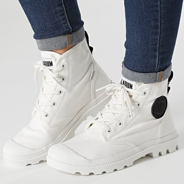 Palladium - Boots Femme Pampa Hi Twill 97074 Star White